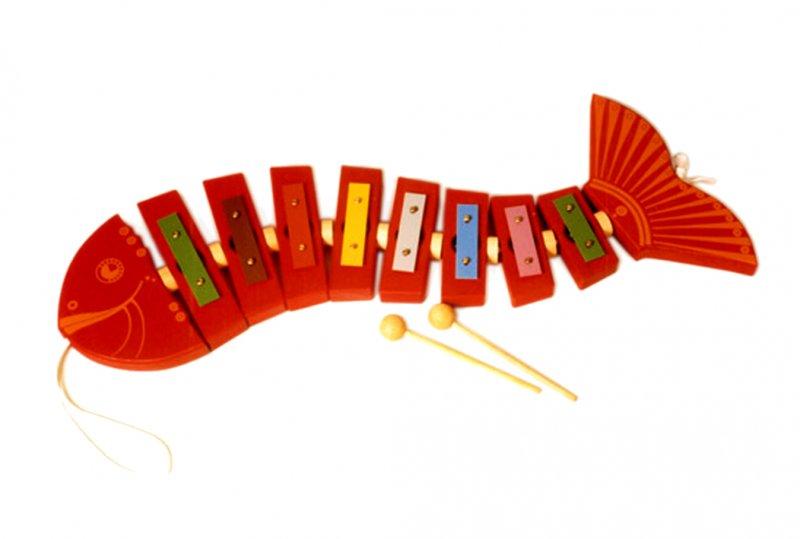 Fisch-Glockenspiel
